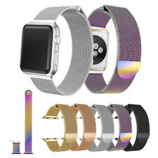 For Apple Watch iWatch Magnetic Stainless Steel Milanese Watch Strap Band US SHI
