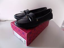 Tory Burch Navy Ashby Loafers