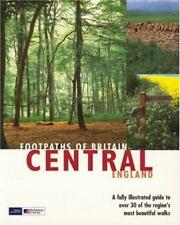 Footpaths of Britain: Central England, Anonymous, Used; Good Book