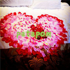 1000pcs Silk Petals Flowers Rose Wedding Scatters Decoration Flower Girl Basket