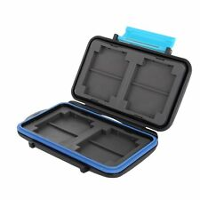 JJC MC Waterproof Memory Card Case Protection Box for CF TF Micro SD MSPD Card