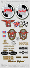 N15CS Atlas Hybrid  - RESTORERS DECAL SET - Norton Atlas 750cc Hybrid