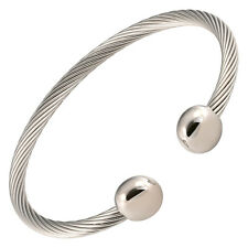 New Magnetic Therapy Bracelet High Power Magnets For Health All Stainless Steel
