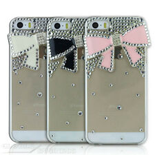 Gaston / Crystal Plastic Bling Diamond Bow Bowknot Back Hard Protect Case Cover
