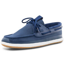 Lacoste L.Andsailing 116 Mens Leather Navy Trainers