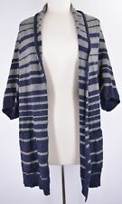 BCBG Max Azria Open Cardigan Sweater 'Gaby' Draped Detail Wool Blend NEW 5097