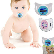 Baby Infant Safety Health Nipple Temperature LCD Digital Pacifier Thermometer