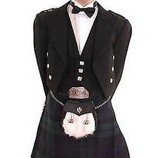 Kids Scottish Prince Charlie Handmade  Boys Wedding  Traditional Kilt  jacket