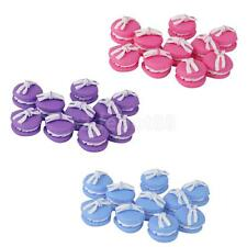 10pcs Flatback Buttons Clay Macarons Beads Scrapbooking Embellishment DIY Craft