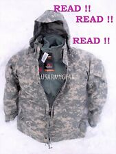 US Army GEN 2 EWCWS Goretex Waterproof Acu Parka Cold Weather Fleece Jacket Set