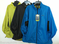 Solaris Men Polyester Jacket Light Weight Shell Water/Wind Resistant XL XXL NWT