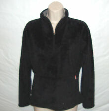 North Face oso 1/2 Zip Fleece Jacket Women's Small Black
