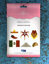Quickutz Rare Retired Mexican Collection Cookie Cutter Die Set Sizzix