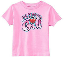 Lil Shirts Little Girls Daddy's Little Girl Toddler Graphic Tee
