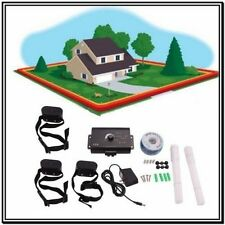 Underground Electric Dog Fence System Non-Waterproof Shock Collars For 1-3 Dogs