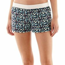 Soffe Low-Rise Peaks and Valleys Print Shorts Juniors Size XS New With Tags
