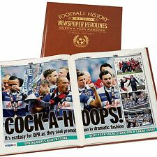 Personalised A3 Colour Football Newspaper Book Gift For Christmas/Grandad/Daddy