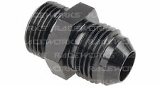 RACEWORKS MALE FLARE AN-8 TO O-RING BOSS AN-12 RWF-920-08-12BK