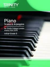NEW Piano 2015 Scales & Arpeggios Initial by Trinity College Lond Paperback Book