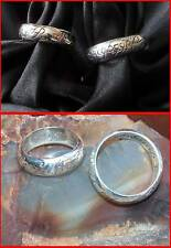 GORGEOUS STERLING SILVER ELVEN ELF LOVE RING LOTR