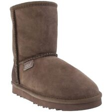 Just Sheepskin Kids Classic Boots - Chocolate