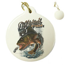Wicked Fish Valley - Christmas Xmas Tree Porcelain Ornaments