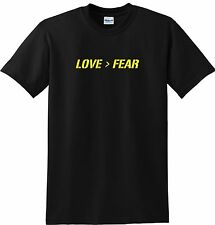 Love Over Fear T-shirt Christian Tee Faithful Tee Nice Shirt
