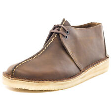 Clarks Originals Desert Trek Mens Leather Brown Casual Shoes