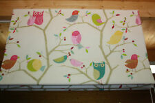 Roman Blind, Harlequin What A Hoot fabric  (Made to measure)
