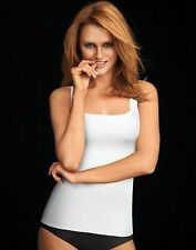 Maidenform Shapewear Firm Control Square-Neck Updated Camisole Tank DM1000 White