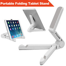 "Portable Fold-up Stand Holder Bracket for Cell phone IPad and other 7""-10"" Table"