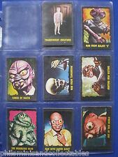 A&BC - Outer Limits  Bubblegum Cards   * Choose The One's You Need *  1966