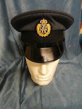 RAF Cap Genuine British Royal Air Force Cap Dress No 1 Cap Uniform Peaked Cap