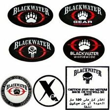 Blackwater Paintball Security Army Combat Mercs Iraq  X Treme Guns  Iron  Patch