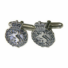 Womans Royal Army Corps, WRAC, Sterling Silver Cufflinks (Code 440)