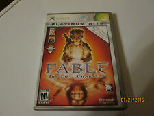 XBOX GAME FABLE THE LOST CHAPTERS , PLATINUM HITS