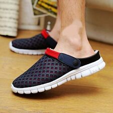Mens Summer Breathable Hole Sandals Slippers Sports Casual Beach Thongs Shoes Sz