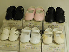 Baby Girls & boys Special Occasion Little Cutie Soft Pram Shoes