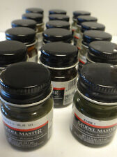 Testors Model Masters ENAMEL Paint 1/2 ounce jars Military colors