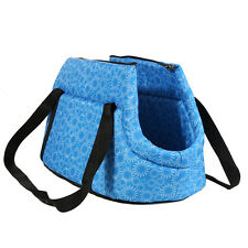 Small Dog Cat Pet Travel Carrier Tote Bag Puppy Kitten Carrier Foldable Washable