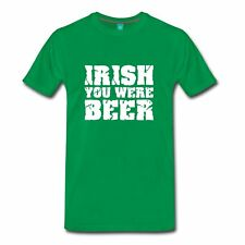 Irish You Were Beer St Patrick's Day Men's T-Shirt by Spreadshirt™