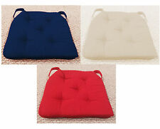 Set of 4 - Orthopedic SOFTH EAVEN Memory Foam Quilted Chair Seat Cushion Pad