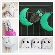 Baby Pillow Cushion Soothing Glowing Soft Toy Moon Star Owl Anti Ghost Nursery