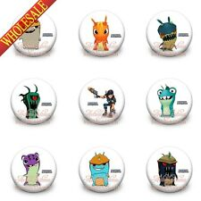 Slugterra pins button badges,30MM,Round Brooch Badges kids gift New pack