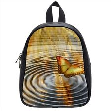 Butterfly Ripples Leather Kid's School Bag / Children's Backpack