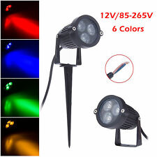9W LED Outdoor Landscape Garden Light Wall Yard Path Pond Flood Spot Light Lamp