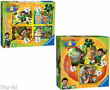 Tree Fu Tom Jigsaw Puzzles 4 In A Box OR 3 In a box Sets Toy By Ravensburger New