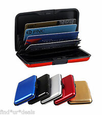 Sensational Aluminium Metal Business ID/Credit Card Holder/Wallet/Pocket-Unisex