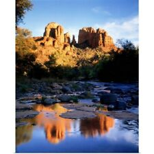 Poster Print Wall Art entitled Cathedral Rock Sedona AZ