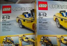 LEGO Cool Cruiser (5767) Collectible MISPRINTED BOXES. These boxes say 556 pcs